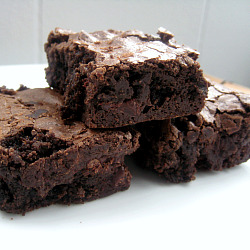 Triple Chocolate Brownies Cooks Illustrated